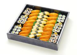 いなり寿司と巻物のお寿司盛り合わせ 4人前