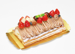 【冬限定】モンブランパイデコレーション 22cm