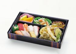 寿司六貫・天ぷら幕の内